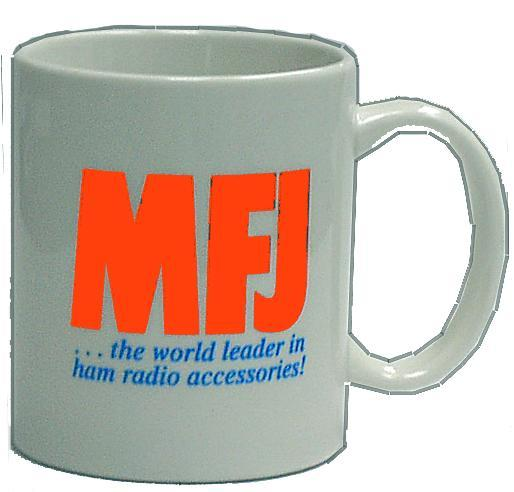 MFJ-9-102 - MFJ Porcelain Coffee Mug