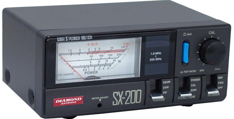 Diamond SX-200 VSWR POWER Meter