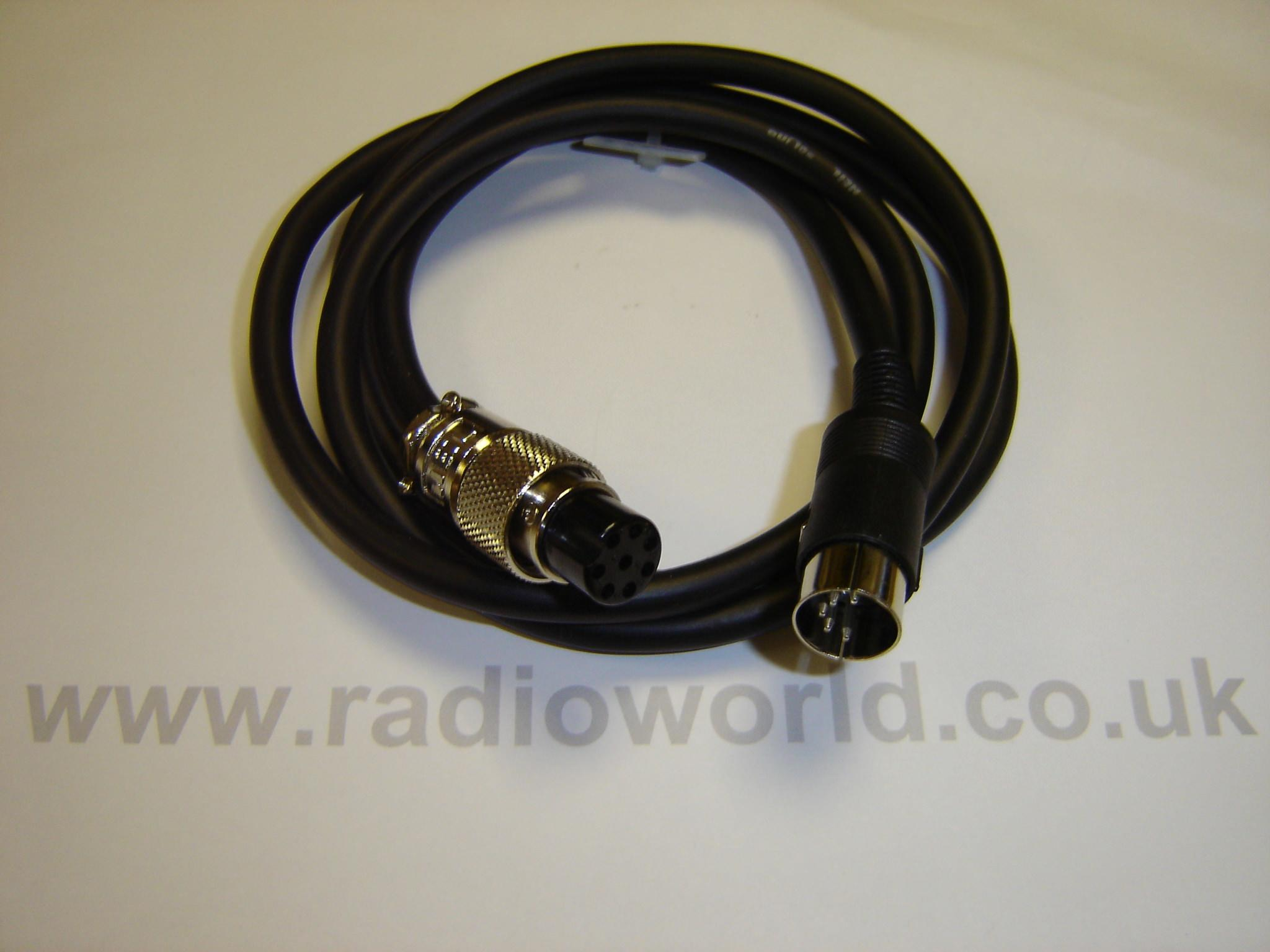 W2IHY Icom 8 Pin Round Lead for W2-8BAND