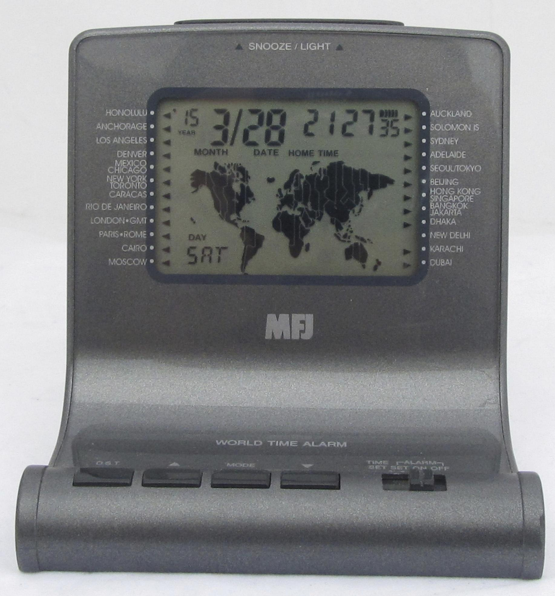 MFJ-112B DX'ers World Map Clock