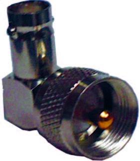 MFJ-7703 Adaptor Right Angled PL-259 to BNC socket
