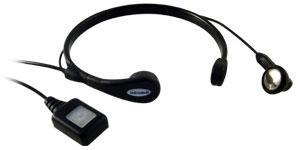 Cool-Talk Noise cancelling earpiece / Throat mic