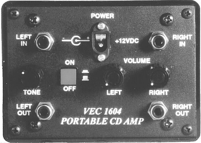 VEC-1604K Vectronics Portable CD Player Audio Amplifier Kit
