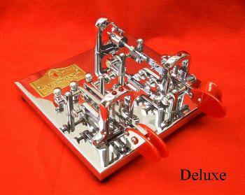 V-DG-O/VK Vibroplex Double Gold Original Bug Key plus Vibrokeyer