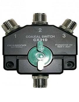 Diamond CX-310A 3-way Coax Switch (SO-239)