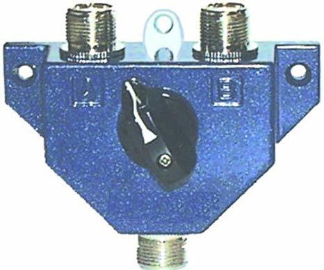 MFJ-1702  2-way Coax Switch 0 - 450MHz PL-259