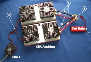 CBA/AMP/HAR - Dual CBA Amplifier 1000 Watt Harness Kit