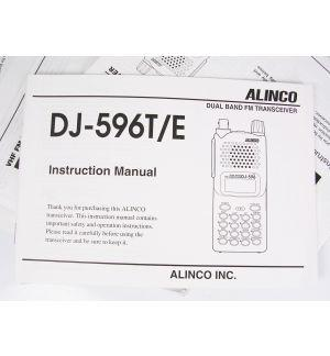ZIM-DJ596 User manual for DJ-596MkII
