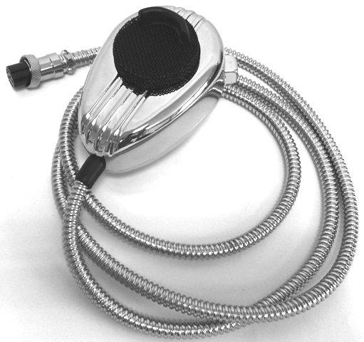CRT MC KING METAL LOOK CB MICROPHONE WITH 6PIN PLUG