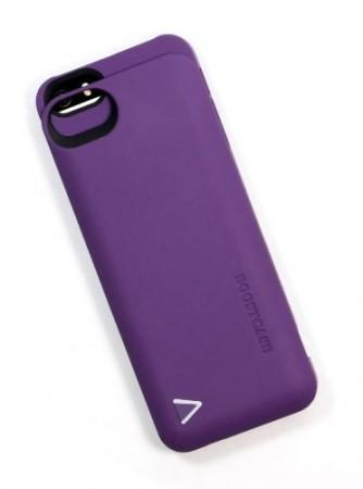 Boostcase 2200MAH Hybrid Power Case For iPhone 5 - Purple