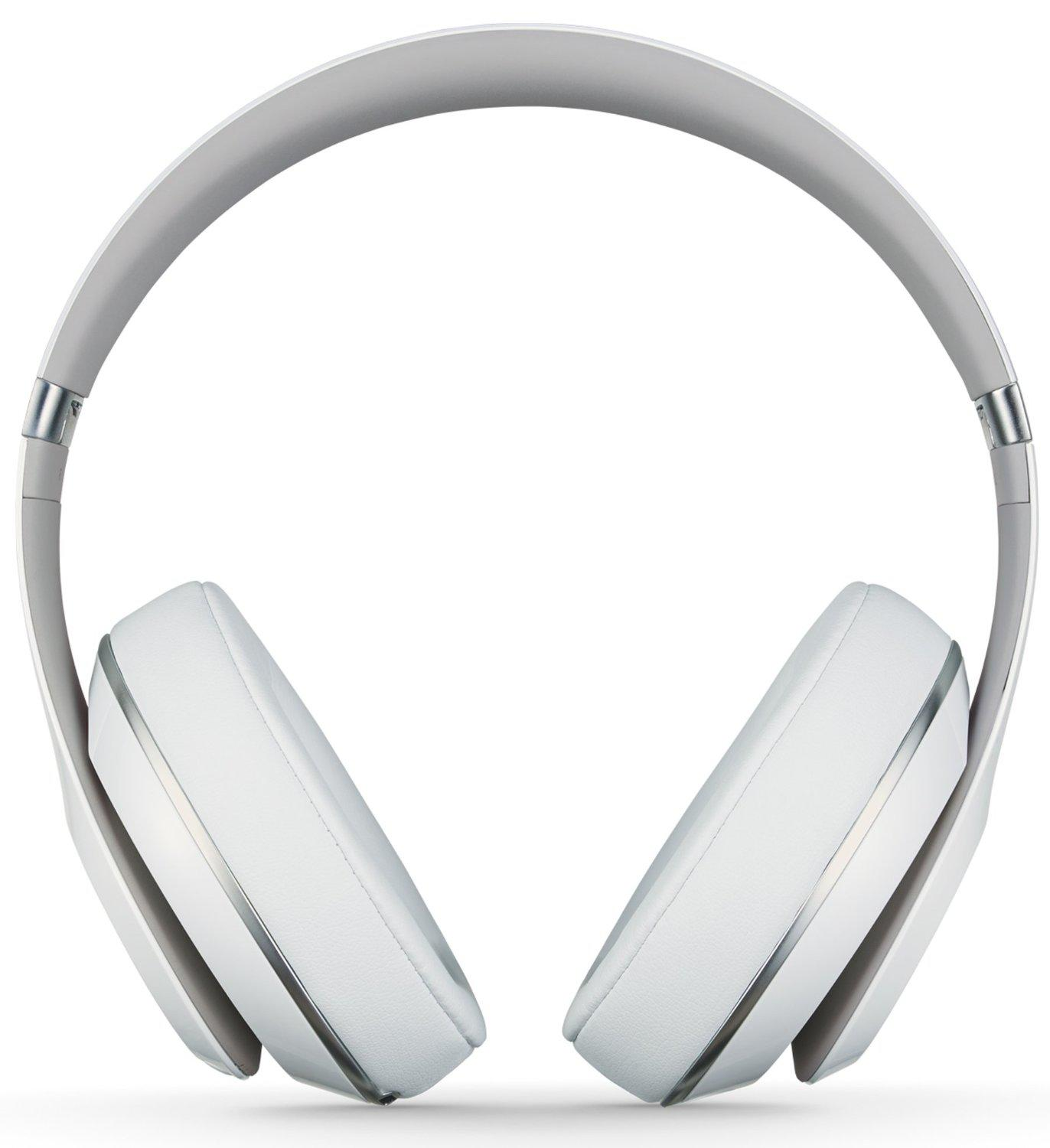 Beats by Dr.Dre Studio Wireless Over-Ear Headphones White s2