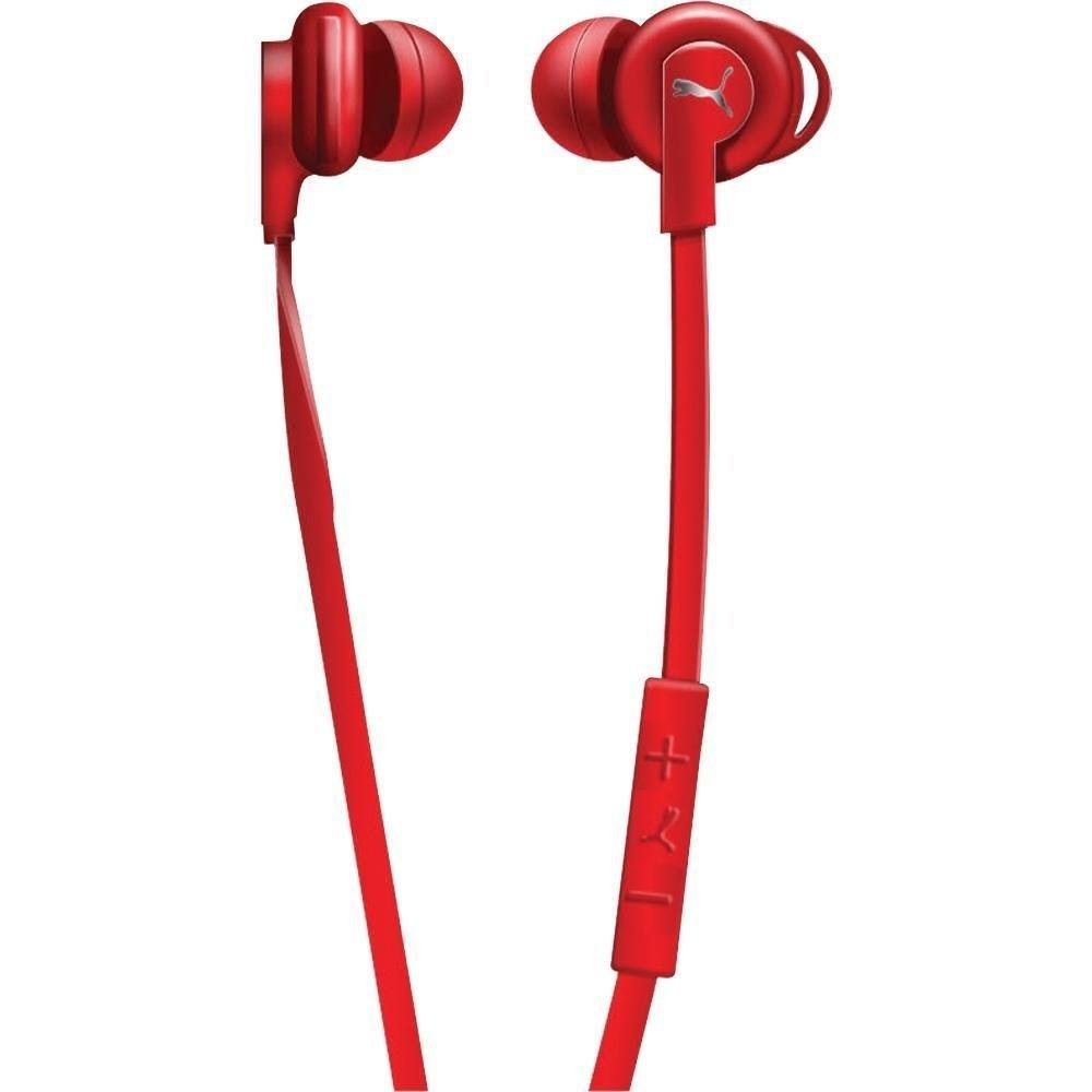 "Puma ""sport buds"" in-ear headphones Red"