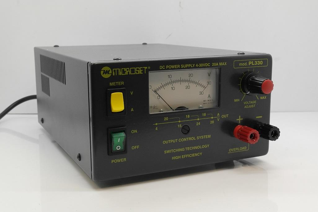 Microset PL-330 20 Amp Linear Power Supply