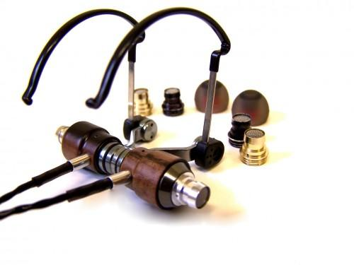ROCK JAW KOMMAND In-ear Headphones Aluminium and Ebony
