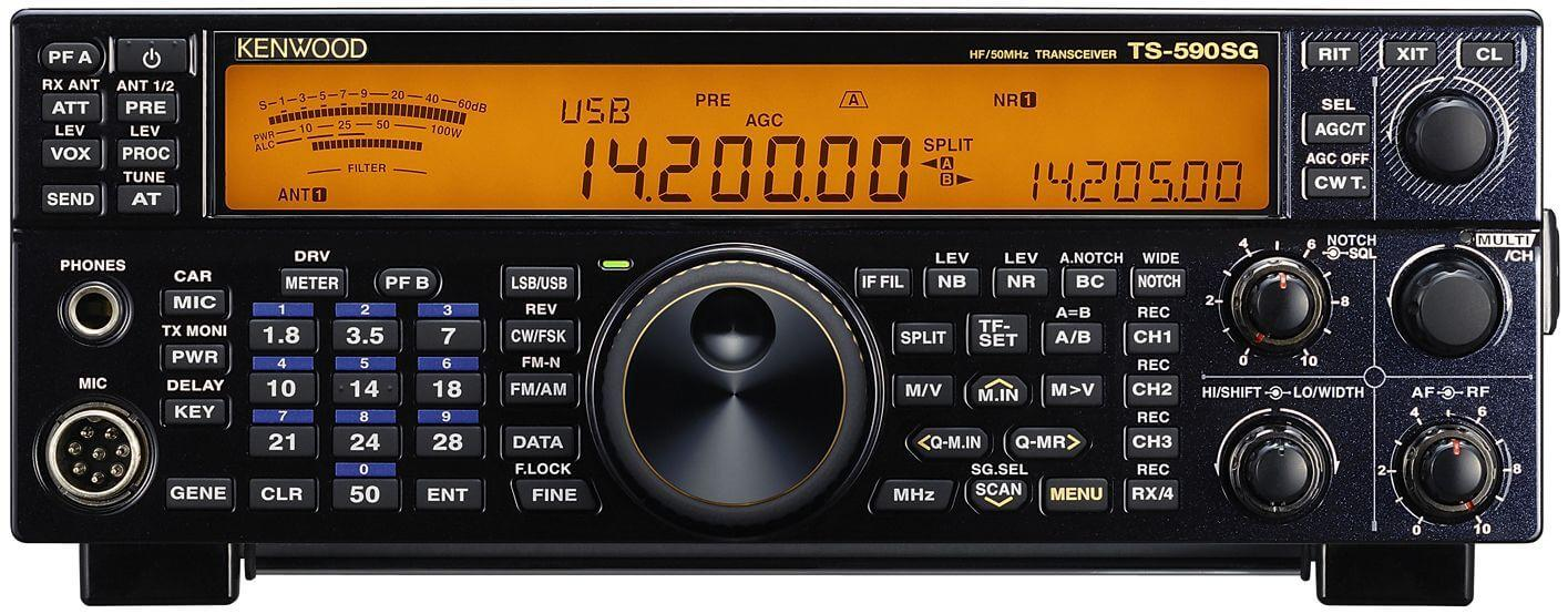 Kenwood TS-590SG Special Black Edition 70th Anniversary