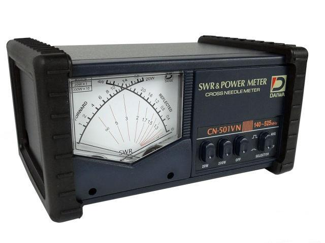 Daiwa CN501VN 140-525 MHz cross-needle SWR/Power meter