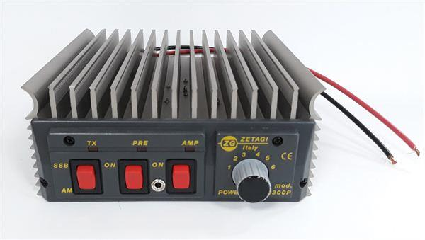 ZETAGI B300P POWER AMPLIFIER 200W AM/FM, 400W SSB + PREAMP