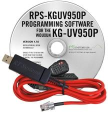 RPS-KGUV950P Programming Software and USB-W5R cable for the Woux