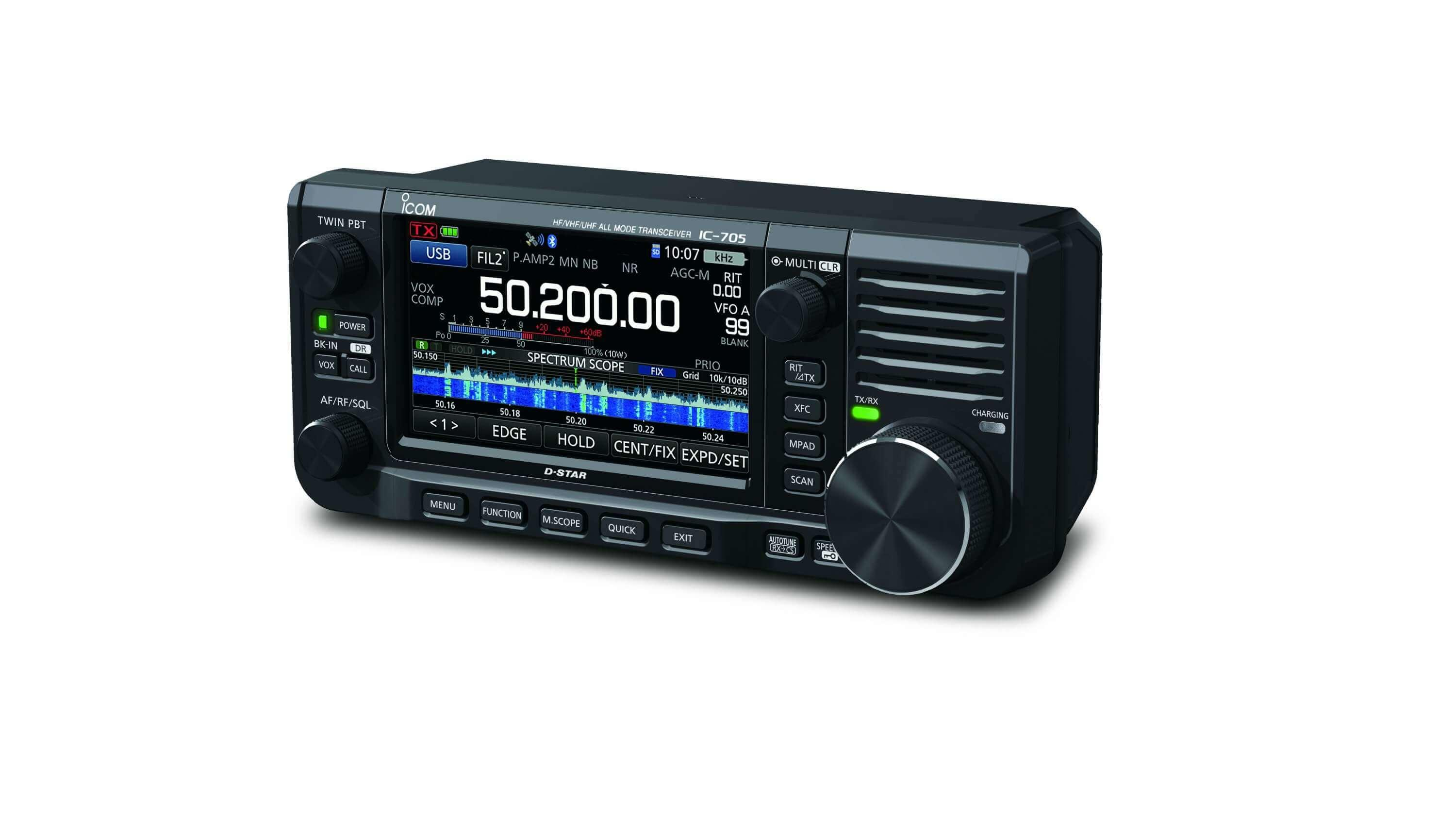 Icom IC-705 HF/50/144/430MHz All Mode Transceiver s2
