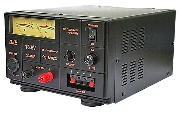 QJE QJ1830SC 30 Amp Linear DC Power Supply