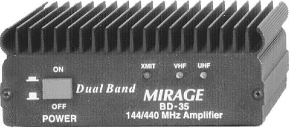 BD-35 Mirage 2m/70cm Dualband Amplifier 45/35W 12V