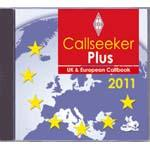 CS2011-CD RSGB Callseeker Plus - UK & Europe Callbook 2011 ed. C