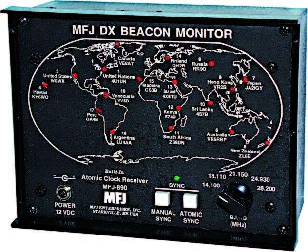 MFJ-890UK DX Beacon Monitor