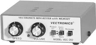VEC-202 Vectronics Slim-Line Curtis 8045ABM Keyer