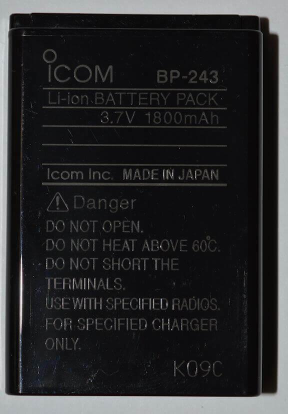 Icom BP-243 Battery pack