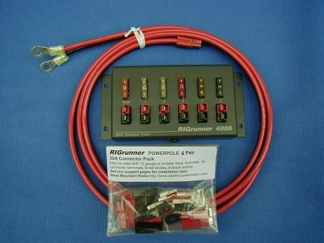 RIGrunner 4005 Complete 12V Distribution Board 58312-1038