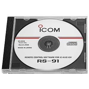 Icom RS-91 Programming and cloning software for IC-E91 radio