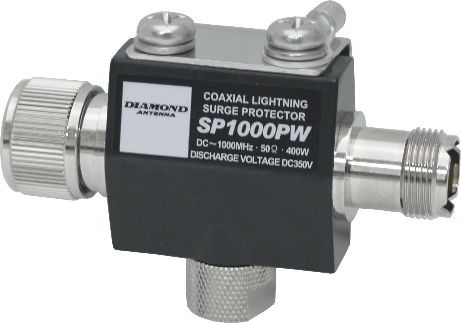 Diamond SP-1000PW Lightning arrestor DC-1000MHz 400W PEP PL-259