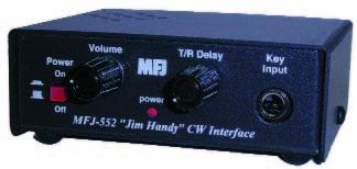 MFJ-552 Modulated CW for use on your FM 2m or 70cm Handheld
