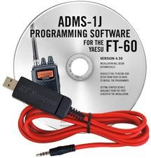 ADMS-1J Programming Software and USB-57A cable for the Yaesu FT-
