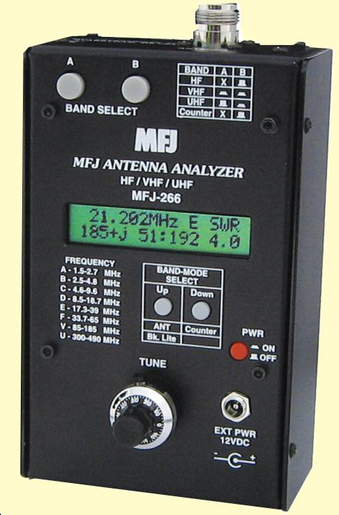 MFJ-266 Antenna Analyzers