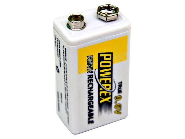 Maha MHR9V POWEREX 9.6v PP3 Type Battery