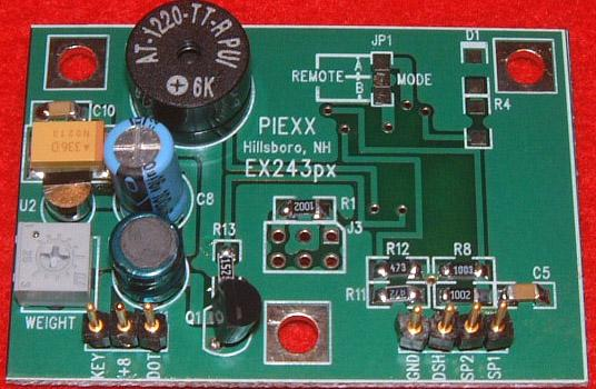 IC-EX243 px Iambic Keyer for IC-735, IC-745, IC-740 and IC-970