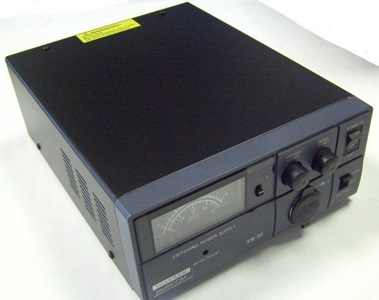 Sharman Multicom SM-50 50 Amp Power Supply