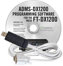 ADMS-DX1200 Programming Software and USB-63 for the Yaesu FT-DX1