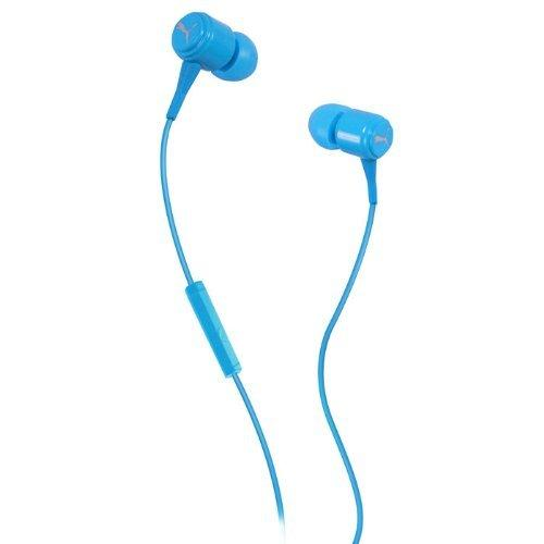 Puma - Bread-N-Butter in-Ear Headphones with Mic-in Blue