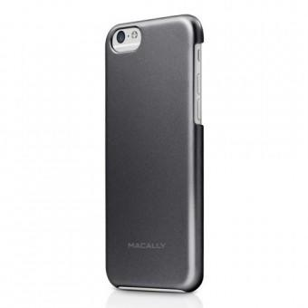 Macally Case iPhone 6 AlumSnap Black Metallic