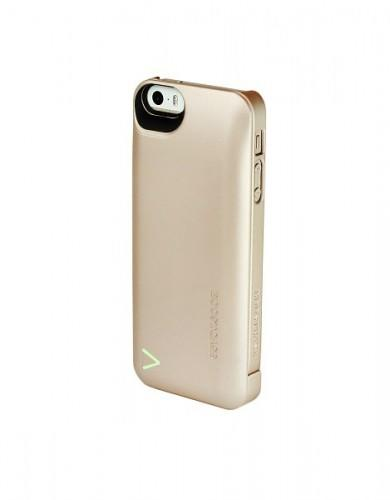 Boostcase 2200mAh Hybrid Power Case iPhone 5 Champagne Gold