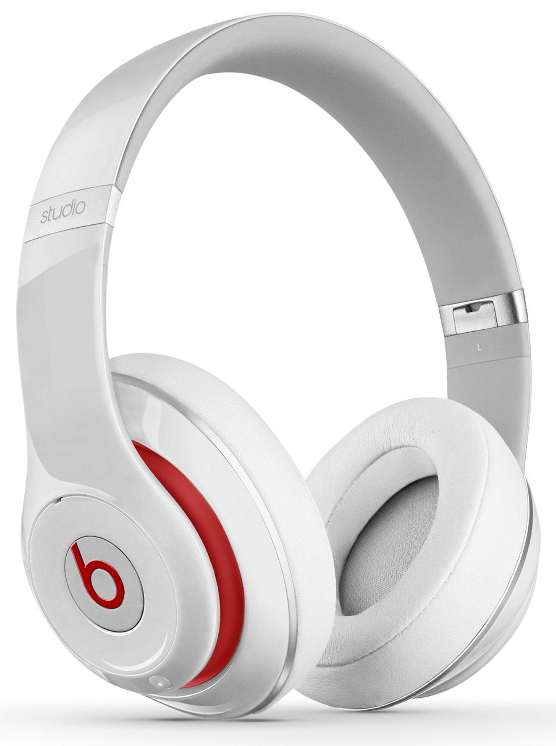 Beats by Dr.Dre Studio Wireless Over-Ear Headphones White