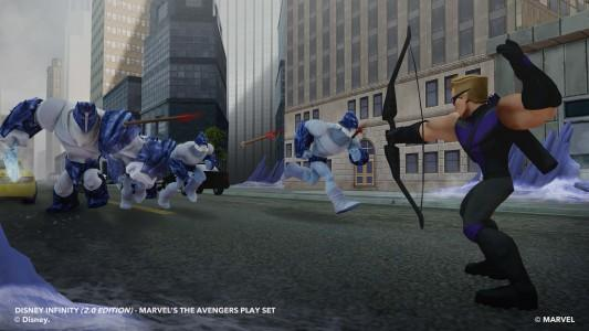 DISNEY INFINITY 2.0: HAWKEYE INTERACTIVE GAME PIECE S2
