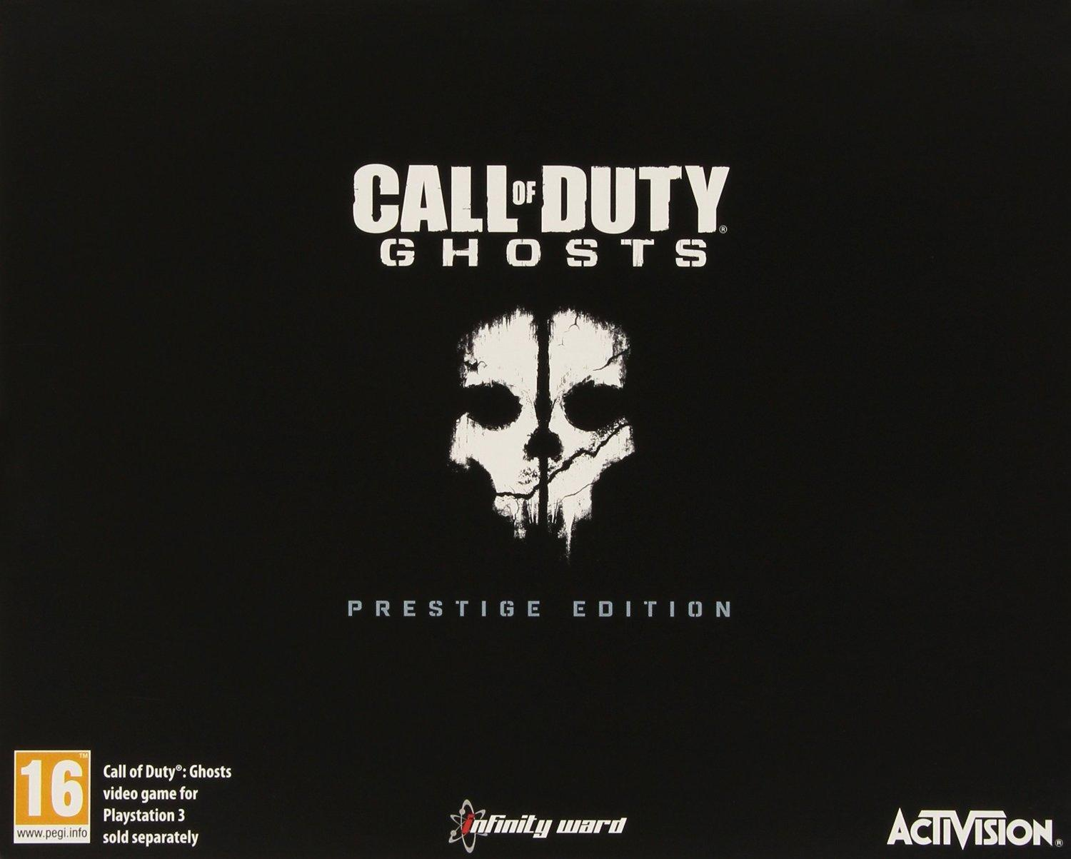 Call of Duty Ghosts Exclusive Prestige Edition PS3