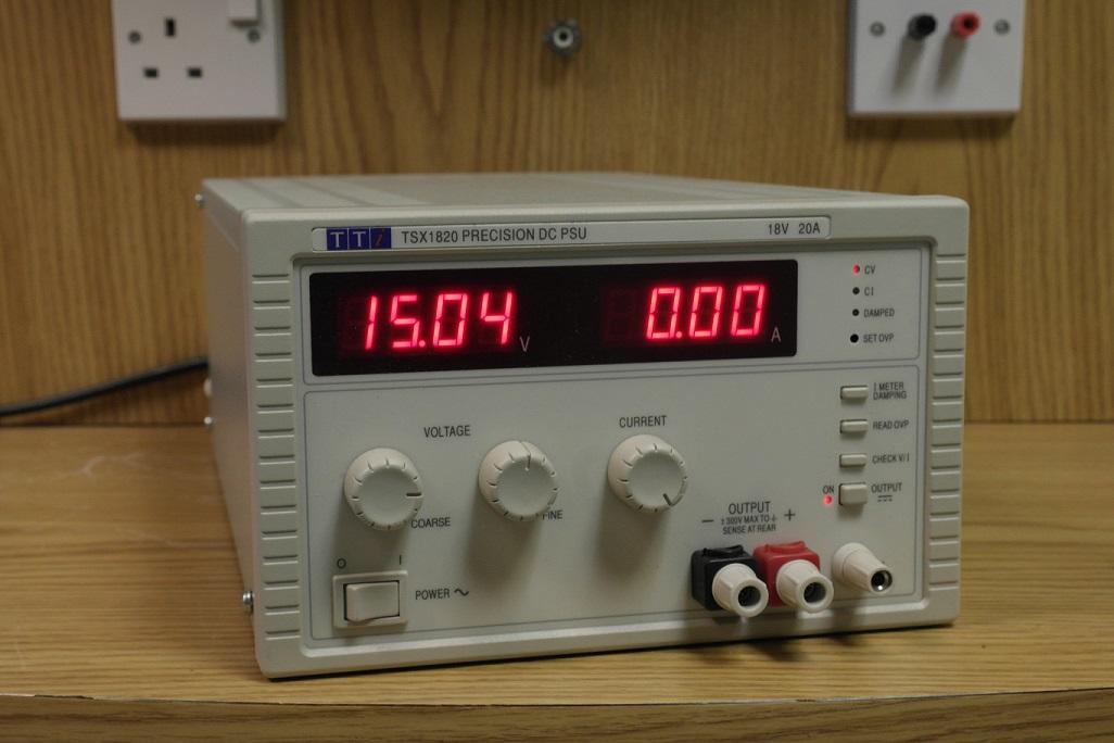 Second Hand AIM-TTI Instruments TSX-1820 20 Amp Power Supply