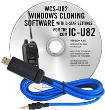 WCS-U82 Programming Software and USB-29A cable for the Icom IC-U