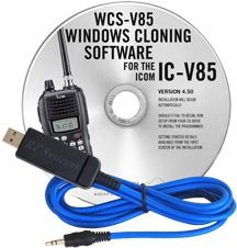 WCS-V85 Programming Software and USB-29A cable for the Icom IC-V