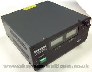 Sharman SM25-D Switch Mode 25 Amp Power Supply with Meters
