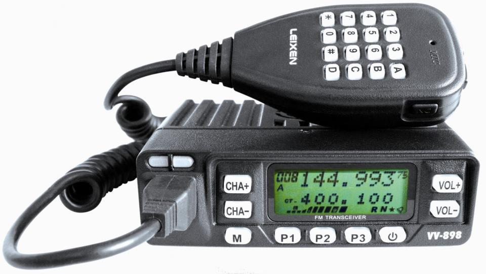 Leixen VV-898 Dual Band FM Mobile Transceiver with Programming L